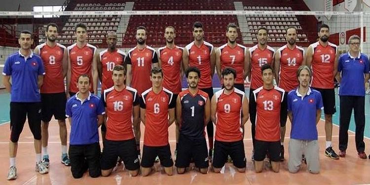 المنتخب التونسي للكرة الطائرة يواجه نظيره الفرنسي
