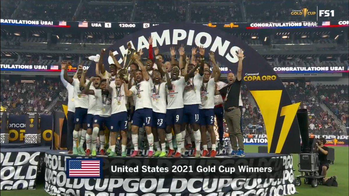 """للمرة السابعة في تاريخه :المنتخب الأمريكي يتوج ببطولة الكأس الذهبية """"الكونكاكاف"""""""